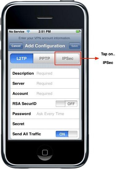 iphone 6 vpn config