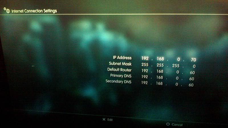 vpn Playstation 3