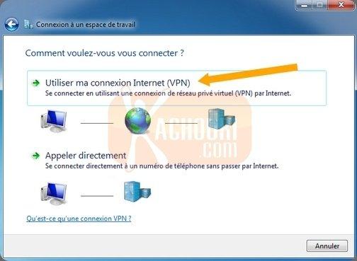 Guide : Comment configurer un vpn PPTP sous Windows 7