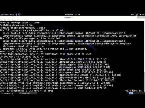 HMA VPN et Kali Linux configuration vpn