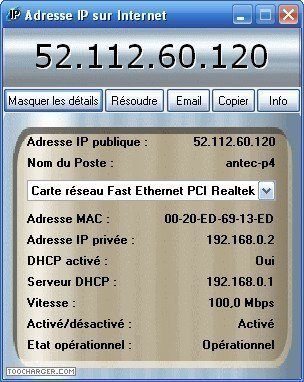 adresses IP