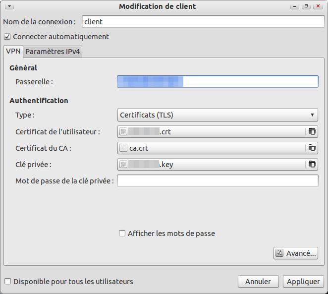 client open vpn ubuntu
