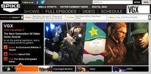 plateforme Spike TV