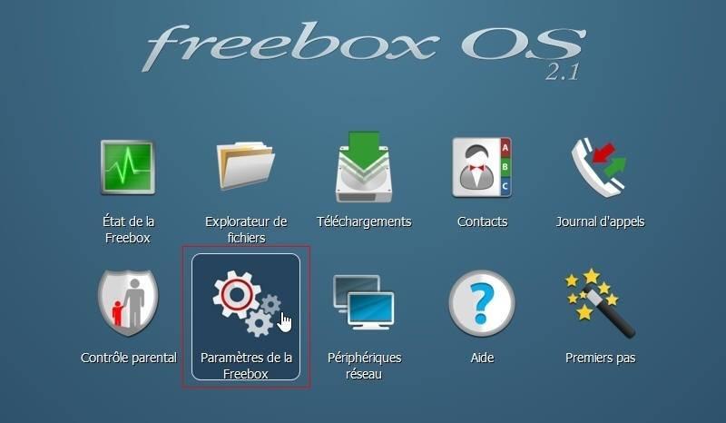 La configuration du client VPN de la Freebox 1