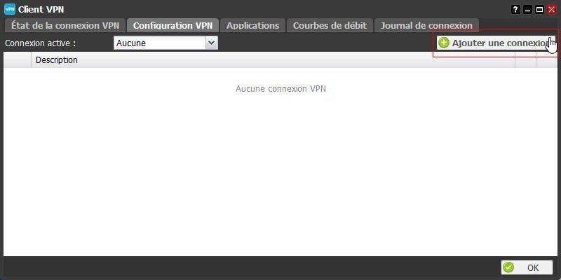La configuration du client VPN de la Freebox 5