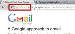 Gmail en HTTPS