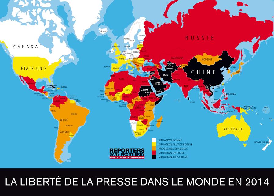Censure du web dans le monde et au Bresil