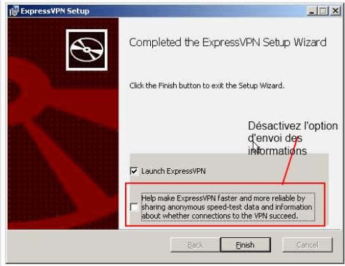 Logiciel de Express VPN