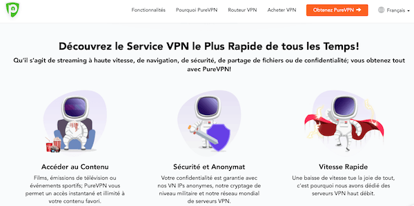 PureVPN pour Voir le Tennis en Streaming en Direct