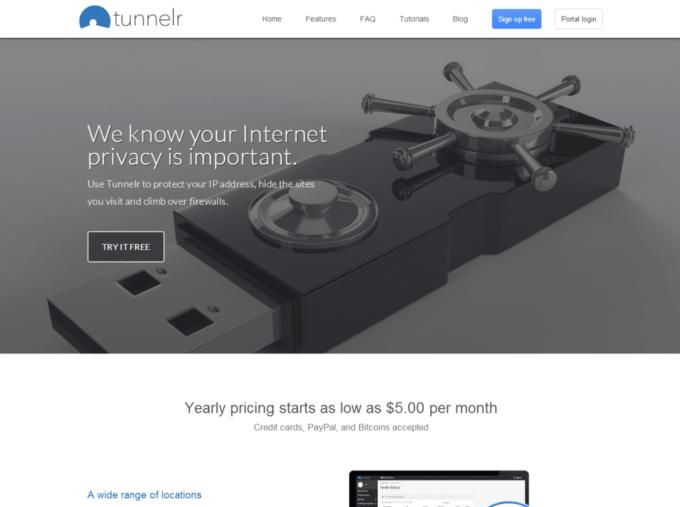 Tunnelr: Test complet du VPN
