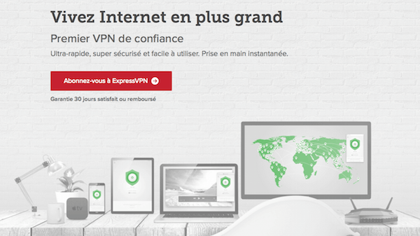 ExpressVPN pour Telecharger des torrents