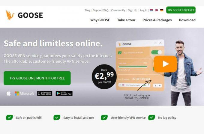 GOOSE VPN: Test Complet et Détaillé du VPN