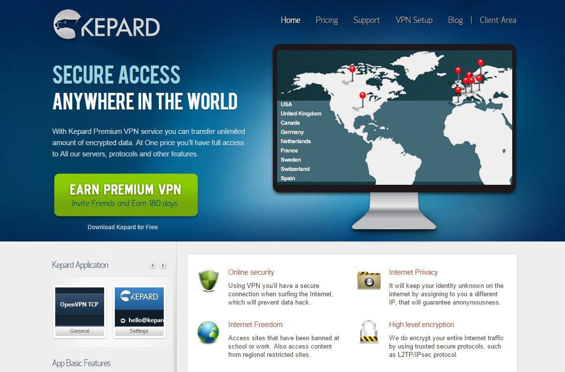 KepardVPN: Test Détaillé du VPN