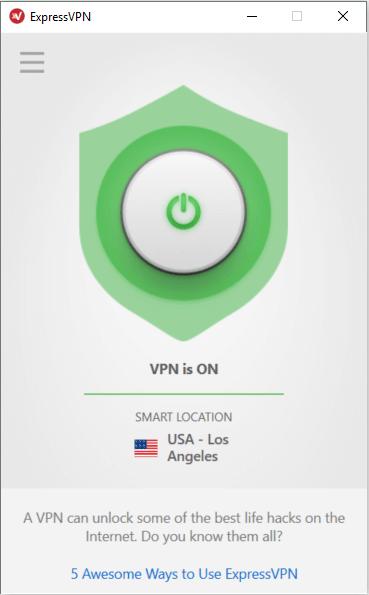 Le VPN est connecté