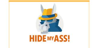 Le logo de hidemyass