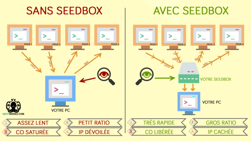 SeedBox pour contourner Hadopi