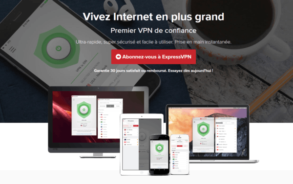 ExpressVPN pour Voir le Tennis en Streaming en Direct