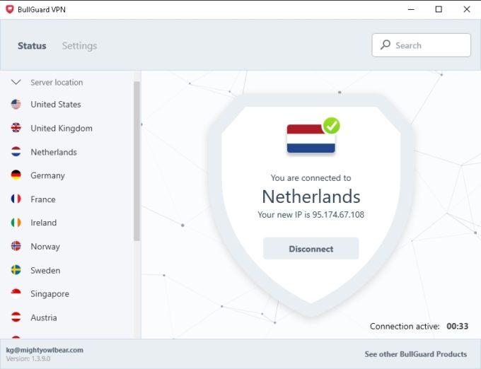 Avis Bullguard VPN
