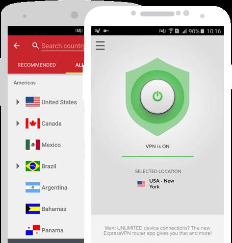 Les Meilleurs VPN pour Android