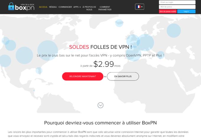 Avis Boxpn VPN