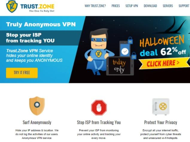 Avis Trust.Zone VPN