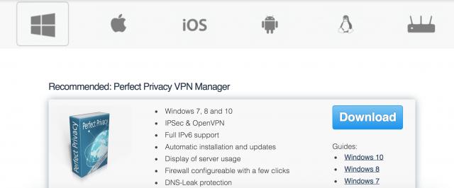 perfect privacy
