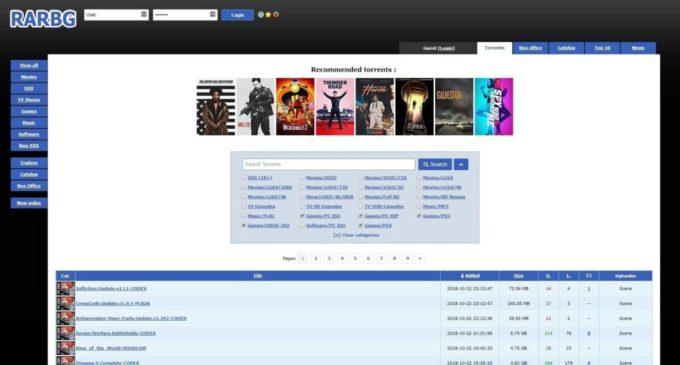 RARBG télécharger Musique torrents